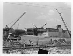 Barkley Dam Construction (NashvilleCorps) Tags: barkley barkleydam kentucky usace corpsofengineers nashvilledistrict cumberlandriver barkleypowerhouse 1963