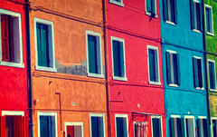 Array of pastels (BlindThirdEye) Tags: arrayofpastels burano venice italy abstract