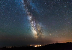 Acadia NP, Maine Milky Way (Kelly DeLay) Tags: milkyway sky maine atlanticocean galaxy acadia nationalpark acadianationalpark