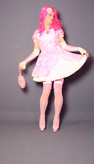 103videoclipS (klarissakrass) Tags: pink pinkhair sissy heels lolita costume crossdressing travestite