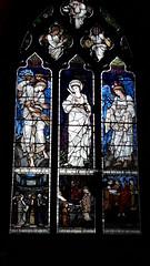 Christ Church College Oxford Cathedral stained glass (Pjposullivan1) Tags: christchurchcollege oxfordcathedral oxforduniversity anglican edwardburnejones williammorris preraphaelite