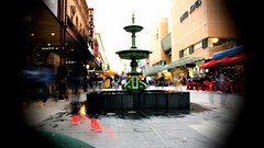 Rundle Mall from the time traveller's perspective (krillmerma) Tags: johntitor time travel worm hole adelaide south australia rundle mall city