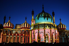 Dr Blighty - Brighton Pavilion (Mark Wordy) Tags: drblighty brightonhove royalpavilion brightonfestival 2016 projections lightshow nutkhut art