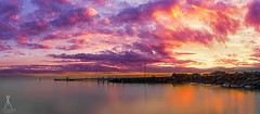MORDI (Laws Photography | www.lawsphotography.com) Tags: longexposure landscape seascape sky sea sunset pier ocean rocks canon clouds canon6d colorful australia amazingskies beautiful vaughanlaws lawsphotography ndfilter neutraldensityfilter water melbourne le color panorama panoramic