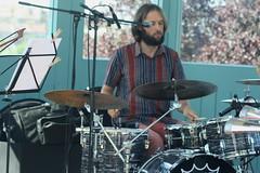 Tonzee (2016) 08 (KM's Live Music shots) Tags: worldmusic greatbritain samba tonzee willroberts drumkit drums festivalofbrasil hornimanmuseum