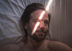 Sunday Morning (Casey Fox) Tags: husband jfm jesse morninglight portrait man sunlight beefcake