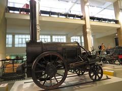 _2014_06_19_17_16_58 (Ricardo Jurczyk Pinheiro) Tags: inglaterra londres sciencemuseum stephenson cincia foguete locomotiva museu tecnologia cincia