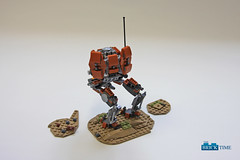 SW_Iltis_Back (THE BRICK TIME Team) Tags: lego space walker war star mech warrior scout iltis machine gun minigun