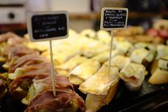 Pintxos! (ollietat) Tags: pintxos food ibiza depth field fujifilm fuji fujix100t x100t x100 jamon queso lunch