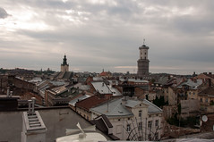 Roofs of Lviv (Eleonora Sacco | Pain de Route) Tags: ukraine ukraina ucraina 2016 summer