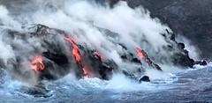 Lava Ocean Entry (Sckchen) Tags: bigisland lava ocean entry hawaii