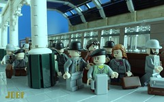 You'll be back soon.... (peggyjdb) Tags: world england london history bedford war lego british liverpoolstreet walthamstow worldwar2 evacuate britishhistory
