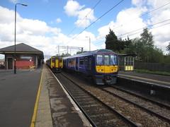 4146z St Helens Junction (61379 Mayflower) Tags: railway railways 142 156 319 electrification