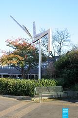 George Rickey - Triple L II - 1982 - Köln (NRWskulptur) Tags: sculpture skulptur köln nrw publicart nordrheinwestfalen rheinland georgerickey rickey kunstimöffentlichenraum northrhinewestphalia edelstahl kinetischekunst