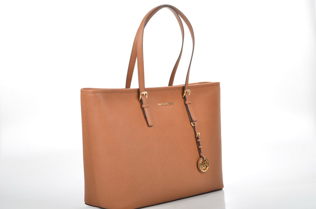 0a42f7270f329 Michael Kors Jet Set Travel MD TZ Mult Funt Tote Shopper 30T5GTVT2B  Kalbsleder hellbraun (luggage