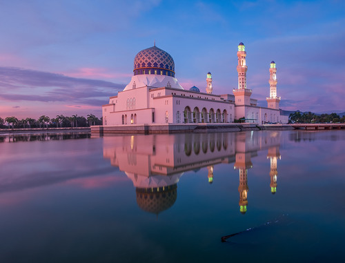 Kota Kinabalu- Masjid Bandar Mosque