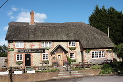 The Woodman Arms Hammerpot West Sussex UK (davidseall) Tags: uk houses house west english public bar sussex pub inn arms country tavern gb british pubs thatched woodman the angmering hammerpot