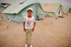 Libiyan Refugee Camp in Tunisia 2011