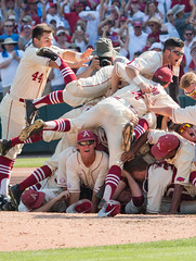 untitled (christinalong15) Tags: sports sport athletics baseball action bears msu tournament missouri omaha arkansas athletes sec ncaa razorbacks beisbol cws