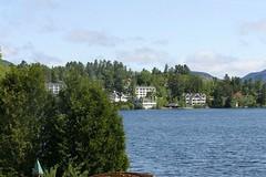 Lake Placid 2015 056 (Chrisser) Tags: travel trees usa lake mountains nature mirrorlake lakes newyorkstate lakeplacid cottages lens00025 outsidecanada canoneosrebelt1i canonefs60mmf28macrousmprimelens