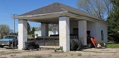 Old Gas Station (Ashton, Nebraska) (courthouselover) Tags: nebraska ne ashton sandhills greatplains gasstations shermancounty polishcommunitiesintheunitedstates