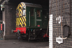 D3101 Loughborough shed (daveymills31294) Tags: great central railway class loughborough 08 gcr d3101