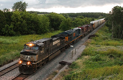 CP 281-21 (DRGW 3129) Tags: canadian pacific norfolk southern csx general electric freight wisconsin soo line milwauke road water watertown sub c449w ns 9261
