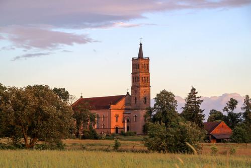 Oleszna Podgórska / Krummöls / Kościół pw. Przemienienia Pańskiego.