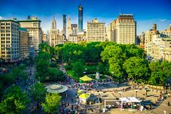 Union Square (Arutemu) Tags: nyc ny sony sonya7r newyork newyorkcity nuevayork city america american a7r sigma 24mm summer urban usa us unitedstates cityscape ciudad wideangle