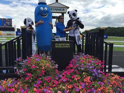 Mascot race winners