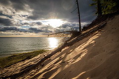 Top of the Dune (joshuay04) Tags: camping lakemichigan hoffmaster