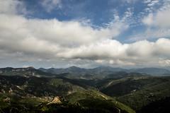 Massif de l'Esterel (kvin brun) Tags: landscape sea cloud sky skyline sun summer mountain trees tree forest sunshine park france var sud
