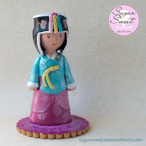 Doljanchi Cake Topper, Clay