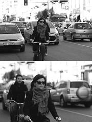 [La Mia Citt][Pedala] (Urca) Tags: portrait blackandwhite bw bike bicycle italia milano bn ciclista biancoenero mir bicicletta 2016 pedalare dittico 87210 nikondigitale ritrattostradale
