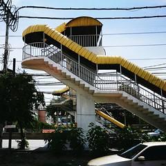 Thailand_allshots Thailand Footpath Samut Prakan The OO Mission No People Street Yellow Bridge ASIA Thai Style (markusg2010) Tags: street bridge yellow thailand asia nopeople footpath thaistyle samutprakan thailandallshots theoomission