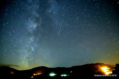 Persides 2016, part. 2. (Antoine Gravini) Tags: meteore corsica corse astro persides galaxie galaxy way milky lacte voie stars shooting filantes ciel sky nuit night etoiles t summer