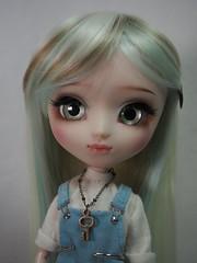 My newest girl <3 (OOAK) (sh0pi) Tags: make fashion doll skin ooak fair it wig mio pullip own puppe leekeworld mikiyochii