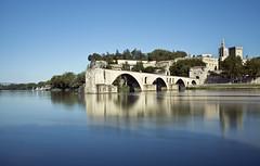 Avignon, the half way bridge (frasse21) Tags: pontsaintbnzet avignon france travel water longexposure le bridge