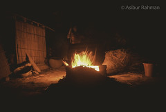 (AsiburRahman) Tags: hearth fire rural