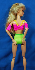 Look at that junk, inside that trunk (toomanypictures1) Tags: teen scene jazzie mattel neon highcut granny panty