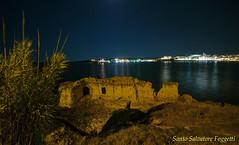 Otranto (Santo Salvatore Foggetti) Tags: italia puglia salento lecce otranto salentina adriatico mare luci notte night grotta scoglio notturno foggetti nikon nikond80 hdr photomatix sea