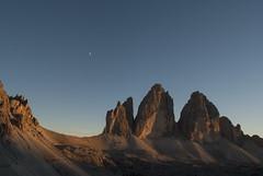 Lonely planet (VALERIA MORRONE  ) Tags: tre cime zinnen three peaks valeria morrone nikon d60 alto adige sunset tramonto 3
