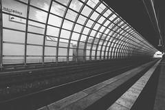 Tunnelaussicht (sfp - sebastian fischer photography) Tags: architektur bahnhof ludwigshafen sbahn walzmhle urban ludwigshafenamrhein bahnhofmitte sbahnhof einkaufszentrum architecture trainstation walzmhle lumpehafe