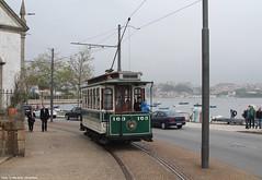 Passeio Alegre (ernstkers) Tags: 163 constructora porto portugal stcp stcp163 streetcar tram tramvia tranvia trolley elctrico strasenbahn sprvagn bonde