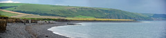 Round Wales Walk 40 - Still Looking Back! (Nikki & Tom) Tags: walescoastpath wales ceredigion uk beach pebbles bay coast sea