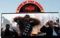 B7079 * Movie Night at Coca-Cola Field (sabre11richard) Tags: finn chewbacca chewie han solo harrison ford john boyega cinema theatre theater
