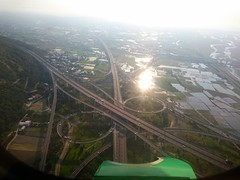 Taichung (William Chen1) Tags: taiwan   taichung    flight fly    road highway