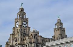 Royal Liver Building (lcfcian1) Tags: royal liver building royalliverbuilding clock birds buildings top tower