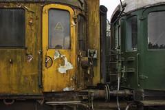 Textures (Jeroenc71) Tags: vsm beekbergen station veluwe steam deteriation deteriorated old paint