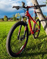 Scott mtn bike (hz536n/George Thomas) Tags: scottscale770 2016 cs5 canon canon5d ef1740mmf4lusm michigan ogemawcounty prescott scott september summer bicycle bike copyright upnorth